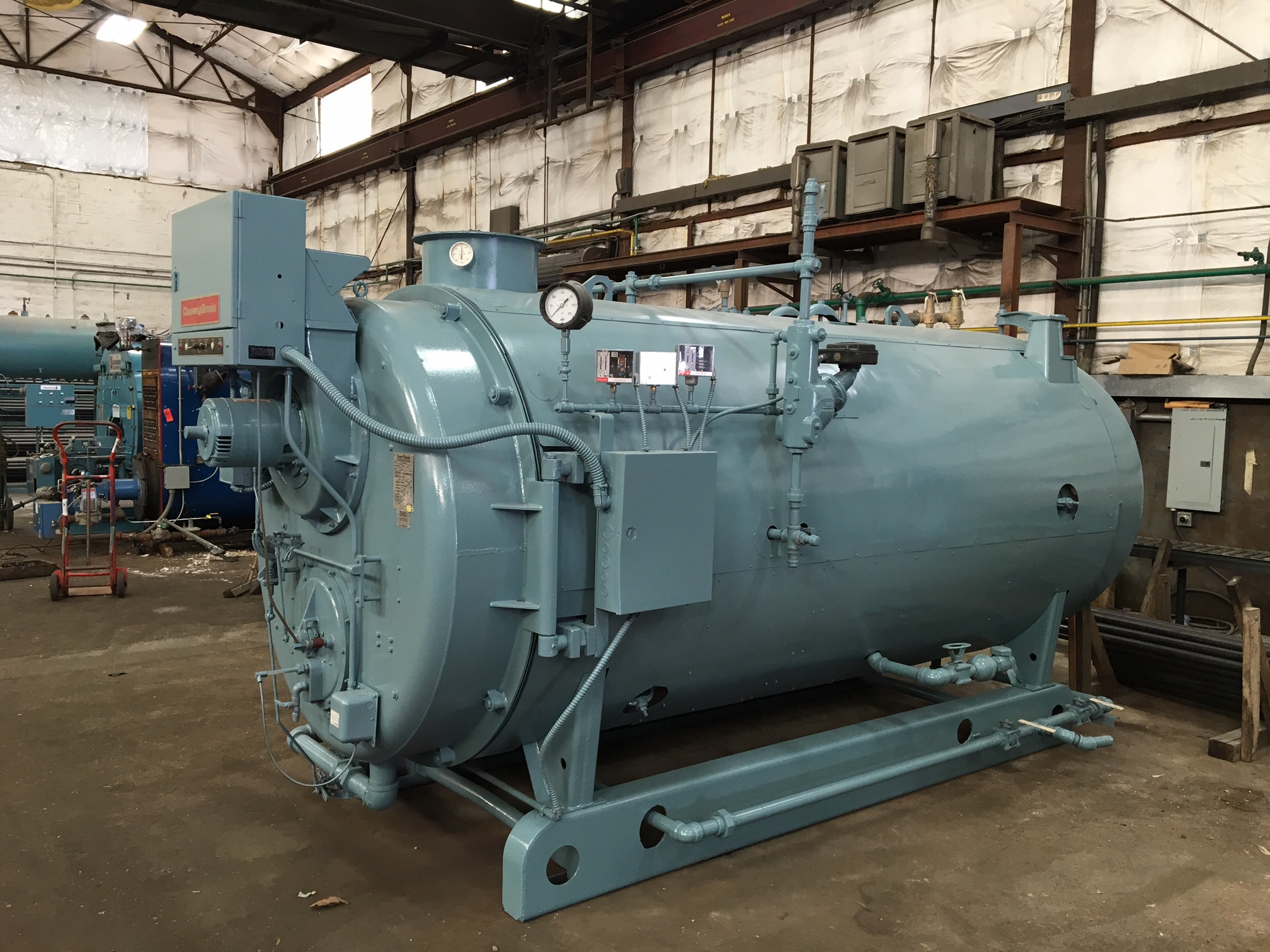 American Boiler Amp Mechanical Industrial Plant Boilers